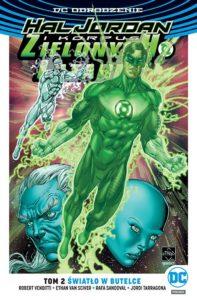 Hal Jordan i Korpus Zielonych Latarni 2 Światło w butelce Okładka Gitarą Rysowane