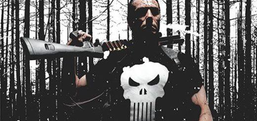 Punisher Max tom 4 Gitarą Rysowane