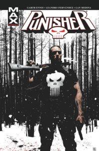 Punisher Max tom 4 Okładka Gitarą Rysowane