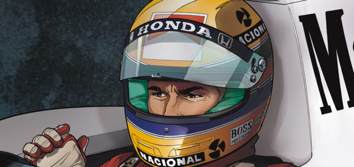 Ayrton Senna. Histori pewnego mitu Gitarą Rysowane