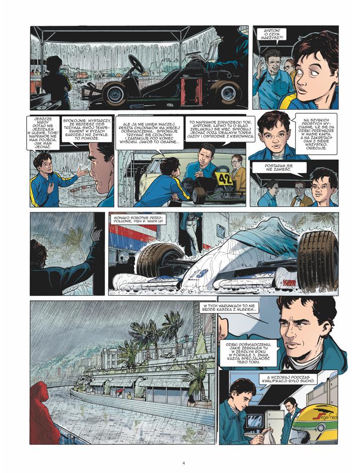 Ayrton Senna. Histori pewnego mitu 1 Gitarą Rysowane