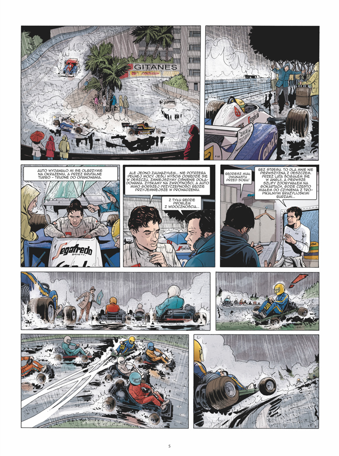 Ayrton Senna. Histori pewnego mitu 2 Gitarą Rysowane
