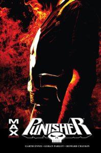 Punisher Max t. 5 Okładka Gitarą Rysowane