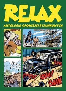 Relax Antologia opowieści rysunkowych tom 3Okładka Gitarą Rysowane