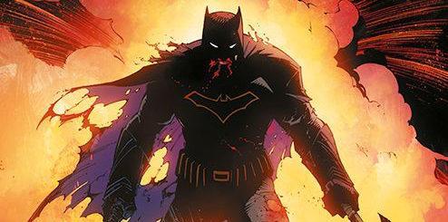 Batman Metal tom 1 Mroczne dni Gitarą Rysowane