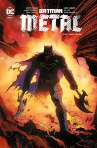 Batman Metal tom 1 Mroczne dni Okładka Gitarą Rysowane