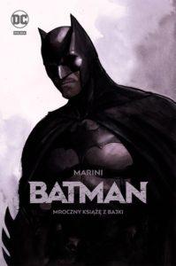 Batman. Mroczny książę z bajki Okładka Gitarą Rysowane