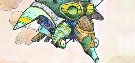 Moebius Kroniki metaliczne. Chaos Gitarą Rysowane