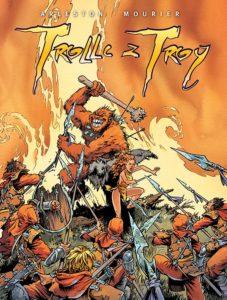 Trolle z Troy tom 1 Okładka Gitarą Rysowane