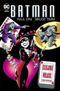 Batman Szalona miłość i inne opowieści Okładka Gitarą Rysowane