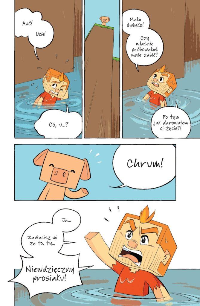 Minecraft. Opowieści ze świata podstawowego 1 Imaginaria