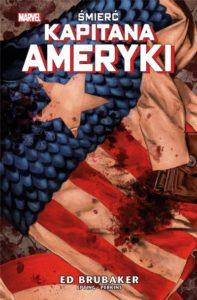 Śmierć Kapitana Ameryki Okładka Imaginaria