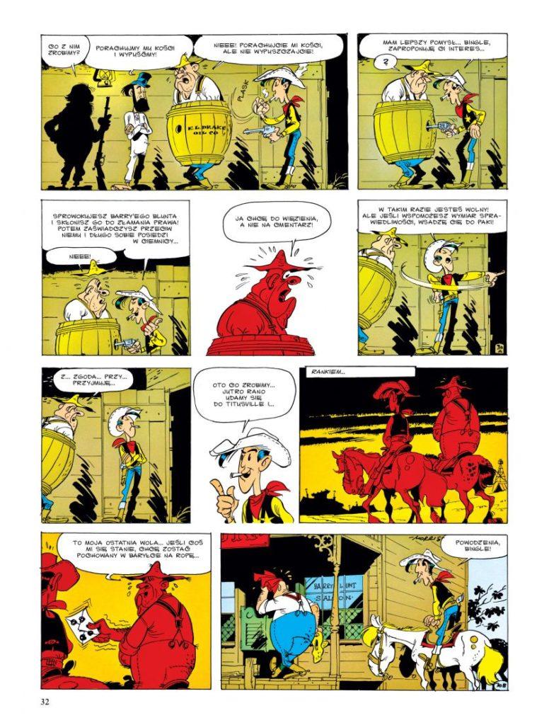 Lucky Luke tom 18 W cieniu wież wiertniczych Imaginaria