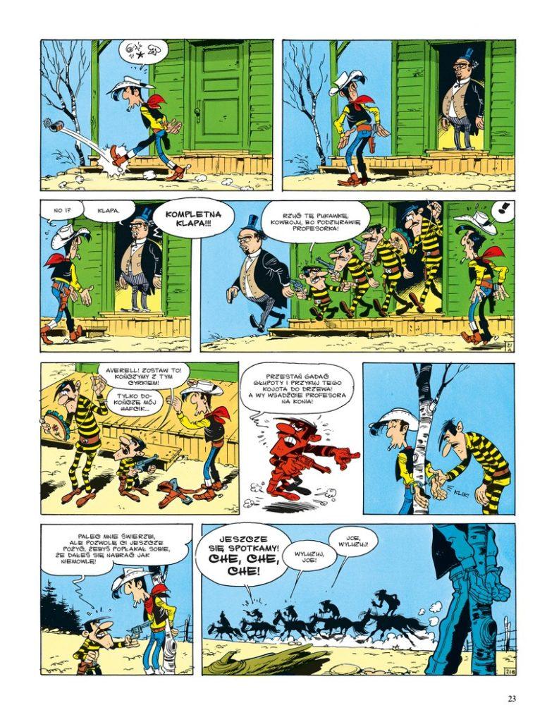 Lucky Luke tom 44 Daltonowie na kuracji Imaginaria