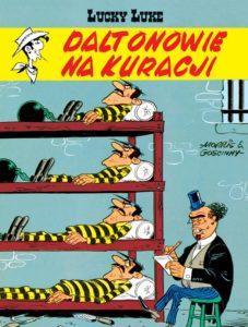 Lucky Luke tom 44 Daltonowie na kuracji Okładka Imaginaria
