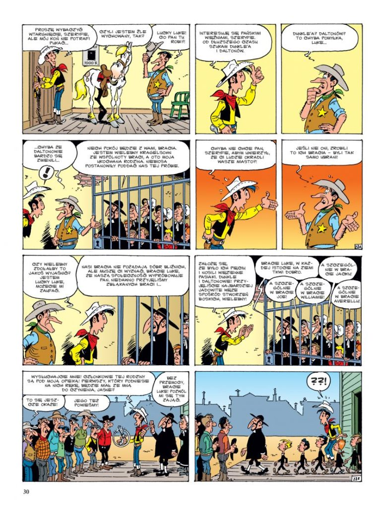 Lucky Luke tom 68 Prorok Imaginaria