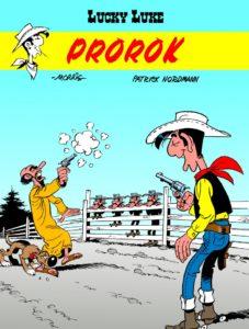 Lucky Luke tom 68 Prorok Okładka Imaginaria