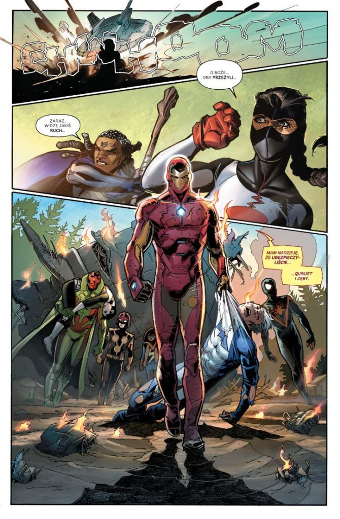 Avengers Impas Atak na Pleasant Hill 1 Imaginaria