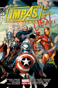 Avengers Impas Atak na Pleasant Hill Okładka Imaginaria