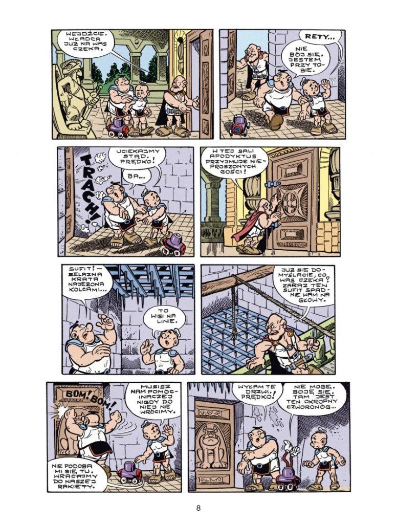 Kajtek i Koko tom 6 Dwór Apodyktusa 1 Imaginaria