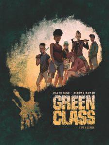 Green Class tom 1 Pandemia Okładka Imaginaria