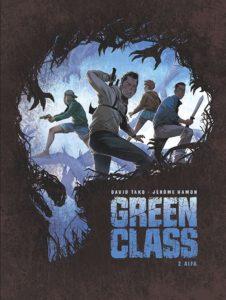 Green Class tom 2 Alfa Okładka Imaginaria