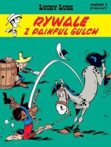 Lucky Luke tom 19 Rywale z Painful Gulch Okładka Imaginaria