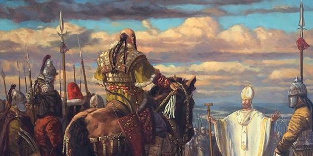 Leon I Wielki Pogromca Attyli Imaginaria