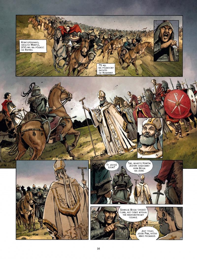 Leon I Wielki Pogromca Attyli 1 Imaginaria