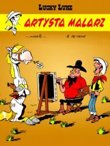 Lucky Luke tom 69 Artysta malarz Okładka Imaginaria