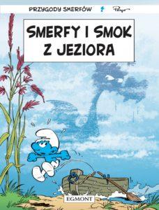 Smerfy i smok z jeziora Okładka Imaginaria