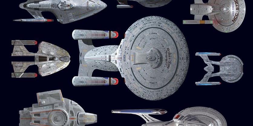 Star Trek Statki Gwiezdnej Floty od 2294 do przyszłości Imaginaria