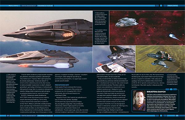 Star Trek Statki Gwiezdnej Floty od 2294 do przyszłości 1 Imaginaria