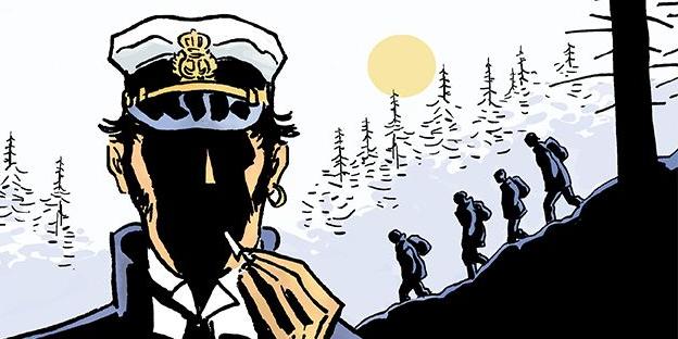 Corto Maltese tom 13 Pod słońcem północy Imaginaria