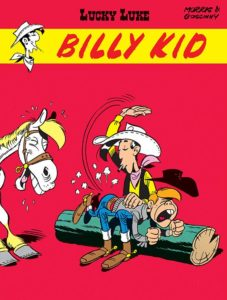 Lucky Luke tom 20 Billy Kid Okładka Imaginaria