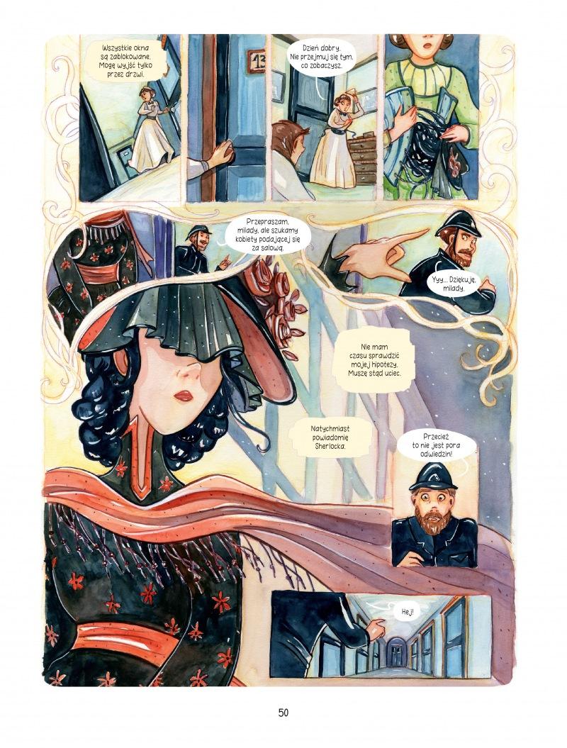Śledztwa Enoli Holmes tom 3 Tajemnica białych maków Imaginaria