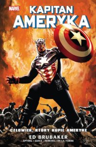 Kapitan Ameryka tom 4 Człowiek, który kupił Amerykę Okładka Imaginaria