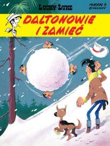 Lucky Luke tom 22 Daltonowie i zamieć Okładka Imaginaria