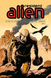 Resident Alien tom 1 Witamy na ziemi Okładka Imaginaria