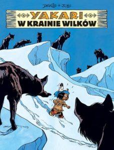 Yakari tom 8 W krainie wilków Okładka Imaginaria
