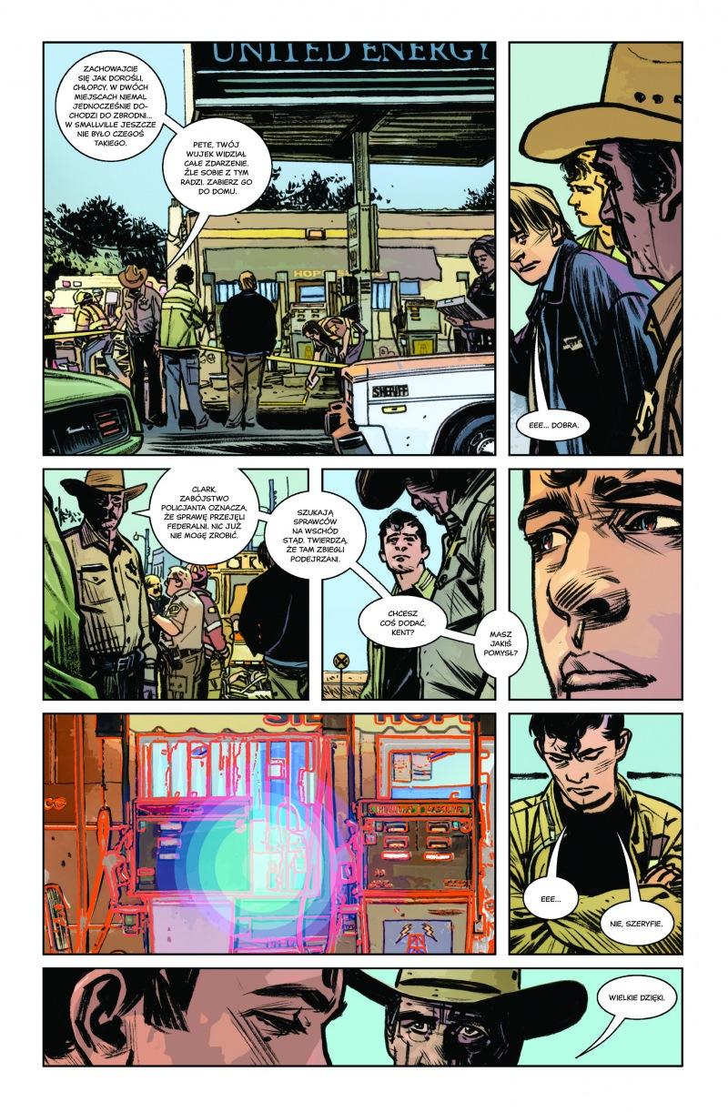 Superman Amerykański obcy Plansza 1 Imaginaria