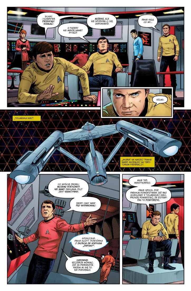 Star Trek Rok piąty Plansza nr 1 Imaginaria