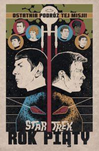 Star Trek Rok piąty Okładka Imaginaria